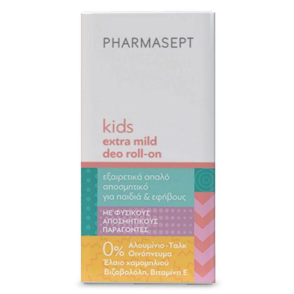 Pharmasept Kid Care Deo Roll-On Απαλό Αποσμητικό Για Παιδιά & Εφήβους 50ml