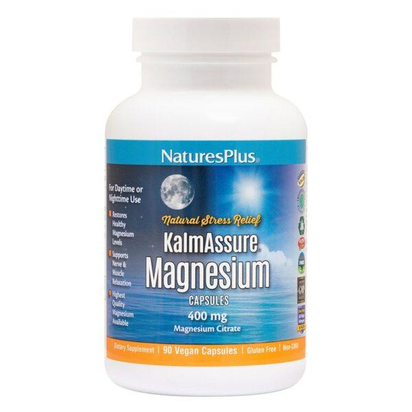 Nature's Plus KalmAssure Magnesium Citrate 400mg 90Vcaps