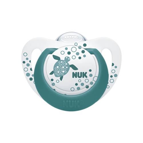 Nuk Πιπίλα Latex Genius Color 6-18 Μηνών 1 Τεμάχιο