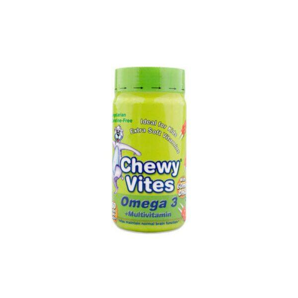 Chewy Vites Kids Ωμεγα3 & Πολυβιταμ. (60Τεμ.)