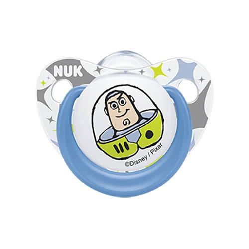 Nuk Πιπίλα Σιλικόνης Toy Story 0-6 Μηνών 1 Τεμάχιο