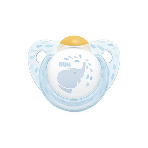 Nuk Πιπίλα Καουτσούκ Baby Blue 6-18 Μηνών 1 Τεμάχιο