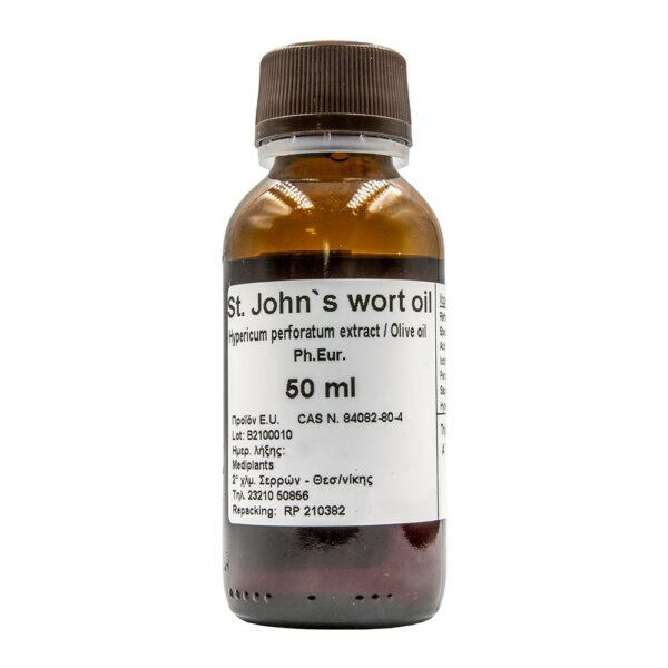 Mediplants St John's wort oil 50ml Ph.Eur. (Σπαθόλαδο)