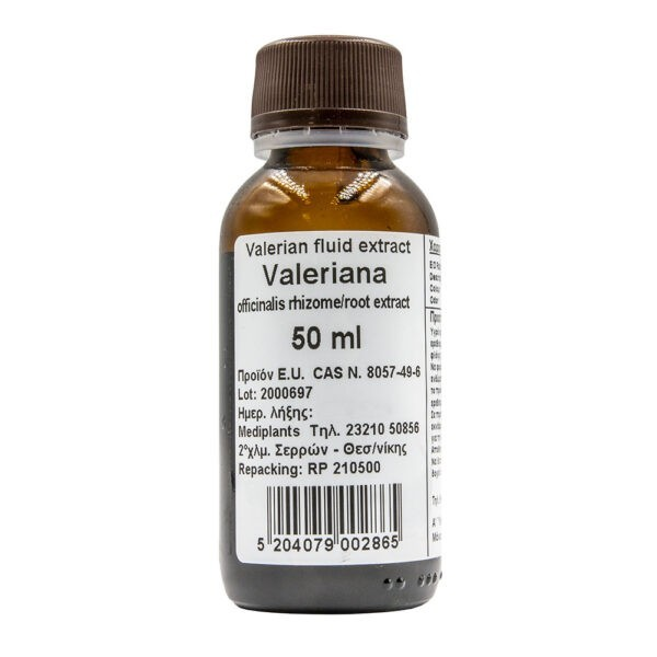 Mediplants Valeriana fluid extract 50ml