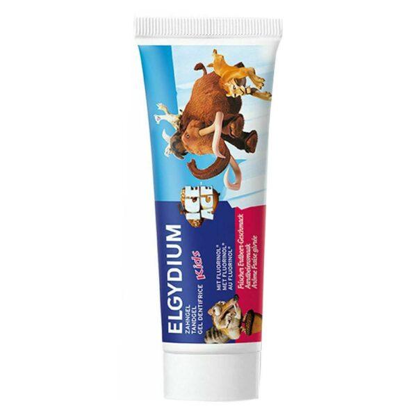 Elgydium Kids Οδοντόκρεμα Με Γεύση Φράουλα 50Ml