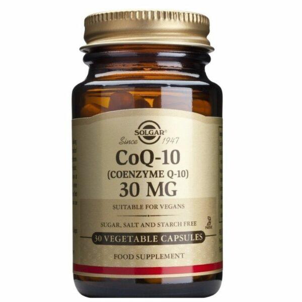 Solgar Coenzyme Q-10 30mg 30 Veg.Caps