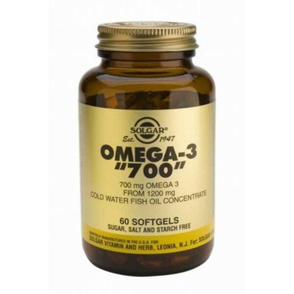 Solgar Omega-3 Ωμέγα-3 Double Strength 60 Softgels