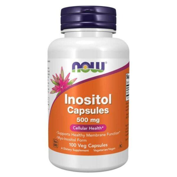 Now Foods Inositol 500 mg - (100 Caps)