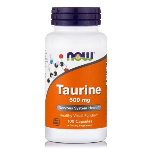 Now Foods Taurine 1000 mg (Free Form) - (100 Caps)