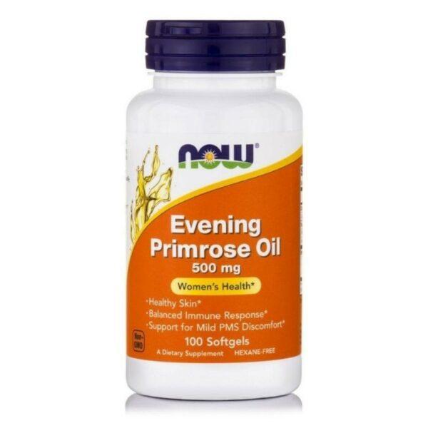 Now Foods Evening Primrose Oil 500 Mg (500 Mg / 45 Mg Gla, Expeller-Pressed) - (100 Softgels)