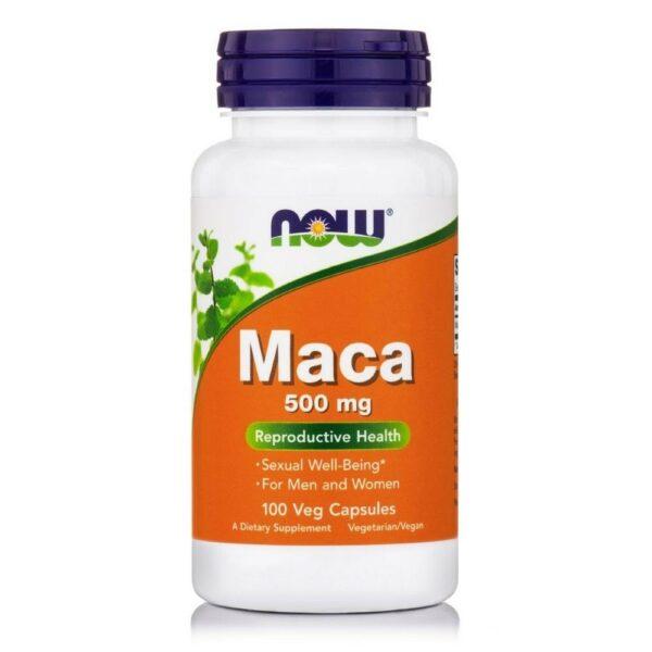 Now Foods Maca 500 mg - (100 Caps)