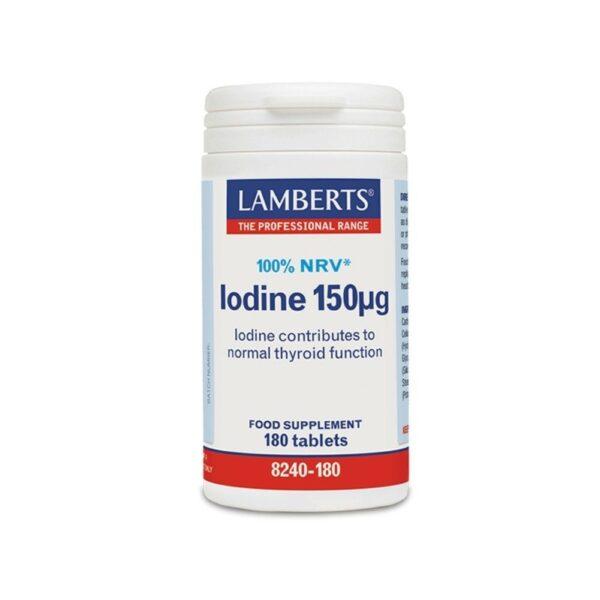 Lamberts Iodine 150μg (180 Tabs)