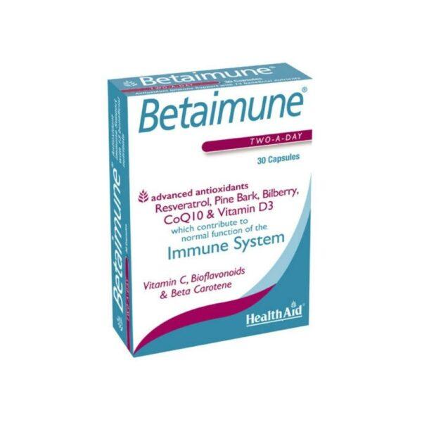 Health Aid Betaimune 30 κάψουλες