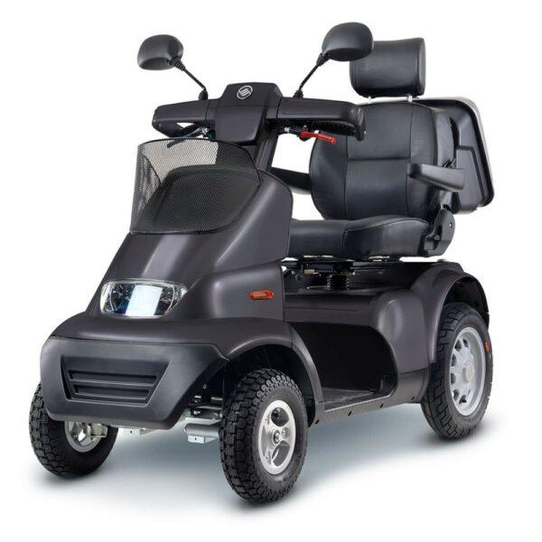 Wheel Afiscooter Breeze S4 Με 4 Τροχούς Dark Grey