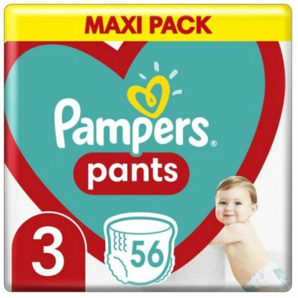 Pampers Pants Νο 3 Τεμ 56 Maxi