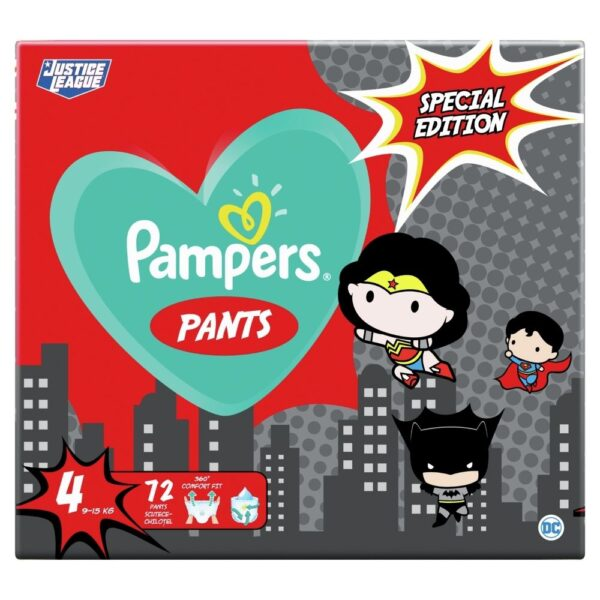 Pampers Pants Νο 4 Τεμ 72 Wb Limited Edition