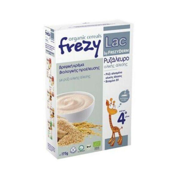 Frezyderm Frezylac Organic Cereals Ρυζάλευρο Ολικής Άλεσης 175γρ