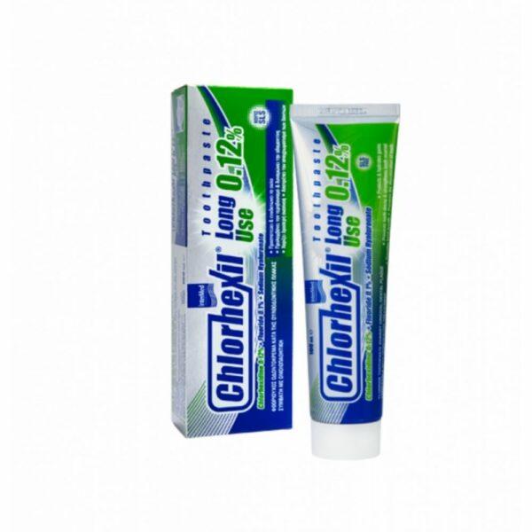 Intermed Chlorhexil 0.12% Toothpaste Long Use Οδοντόκρεμα 100 ml