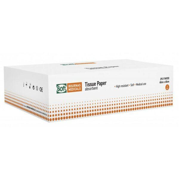 Bournas Medicals Χαρτοβάμβακας Alfa-Alfa Λευκότητας 86% Διπλωμένος 5kg