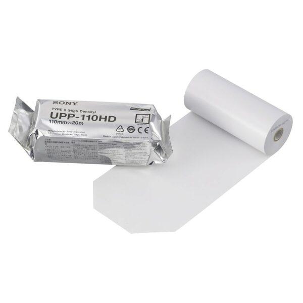 Sony Χαρτί Υπερήχου Θερμικό UPP-110HD 1 Τεμάχιο