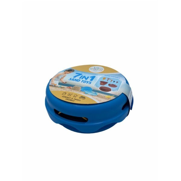 CompacToys 7in1 Sand Toys Blue
