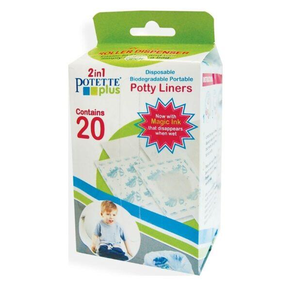 Potette Plus Ανταλλακτικές Σακούλες Βιοδιασπώμενες 20 Τεμάχια