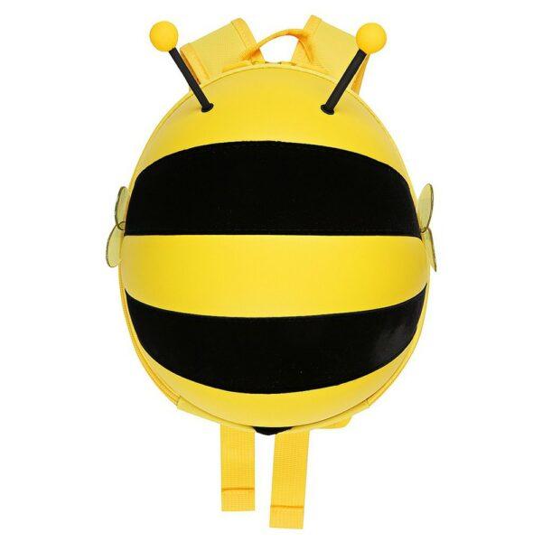 Supercute Μέλισσα Σχολική Τσάντα Πλάτης Νηπιαγωγείου Κίτρινη
