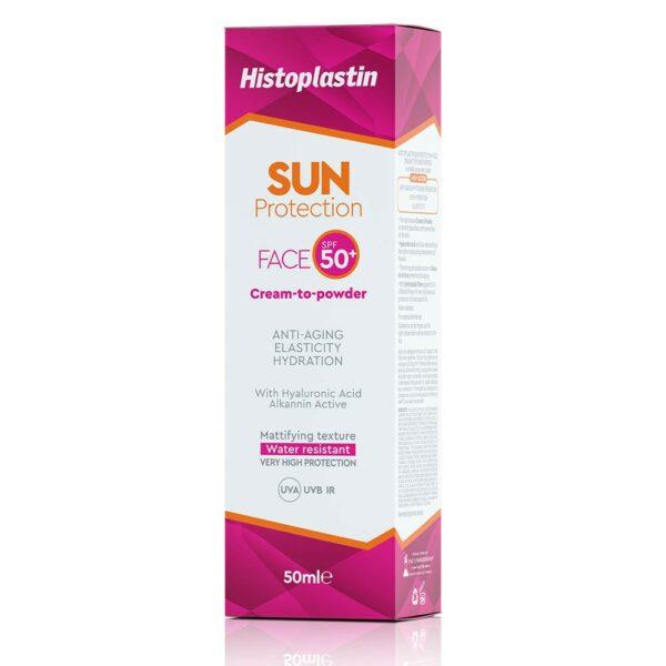 Histoplastin Sun Protection Face Cream-to-Powder SPF 50+ 50ml