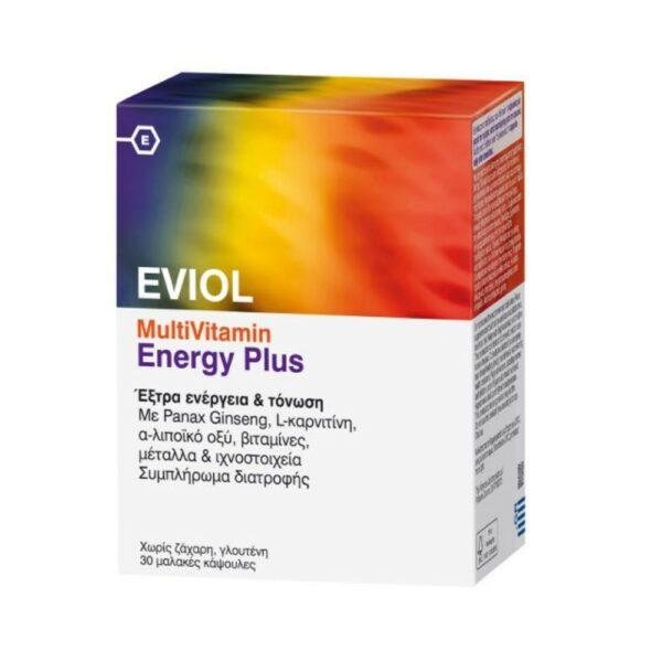 Eviol Multivitamin Energy Plus 30Caps