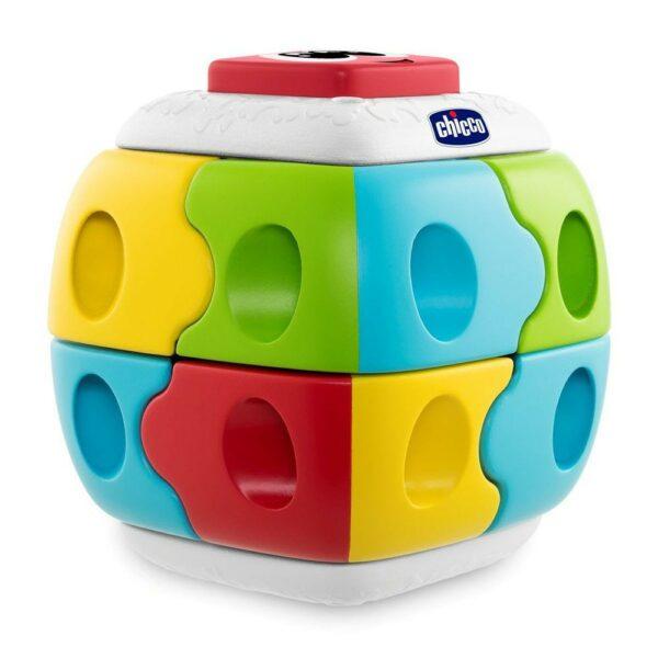 Chicco Παιδικός Κύβος Ρούμπικ 2 Σε 1
