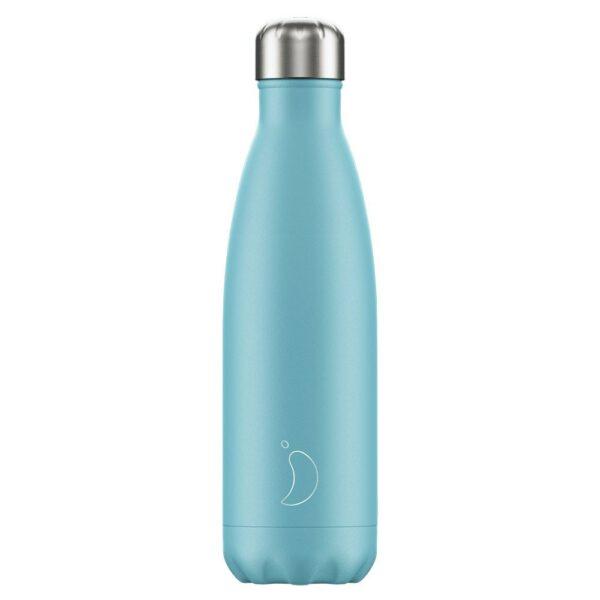 Chilly's Chilly's Ανοξείδωτο Μπουκάλι Θερμός Pastel Blue 500ml