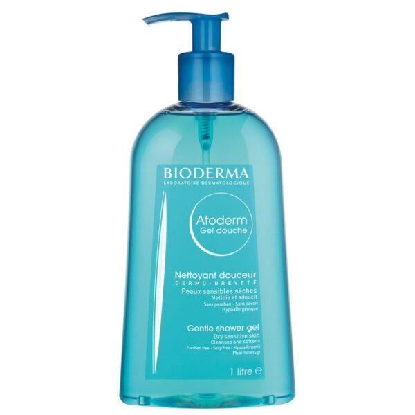 Bioderma Atoderm Gentle Dry Sensitive Skin Gel Douche 1000ml