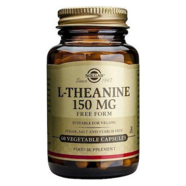Solgar L-Τheanine 150mg 30 Φυτικές Κάψουλες