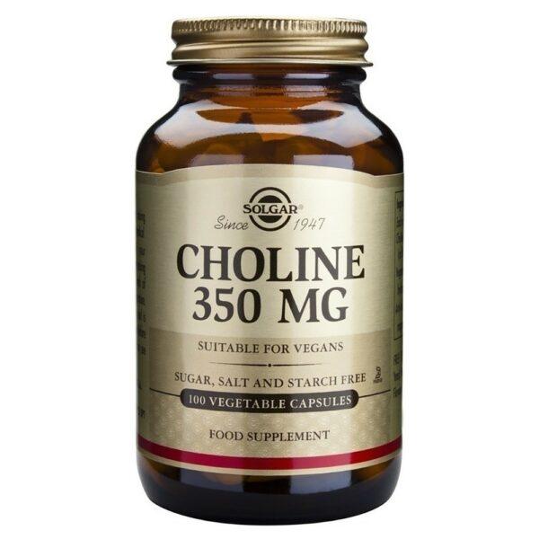 SoSolgar Choline 350mg 100 Φυτικές Κάψουλες