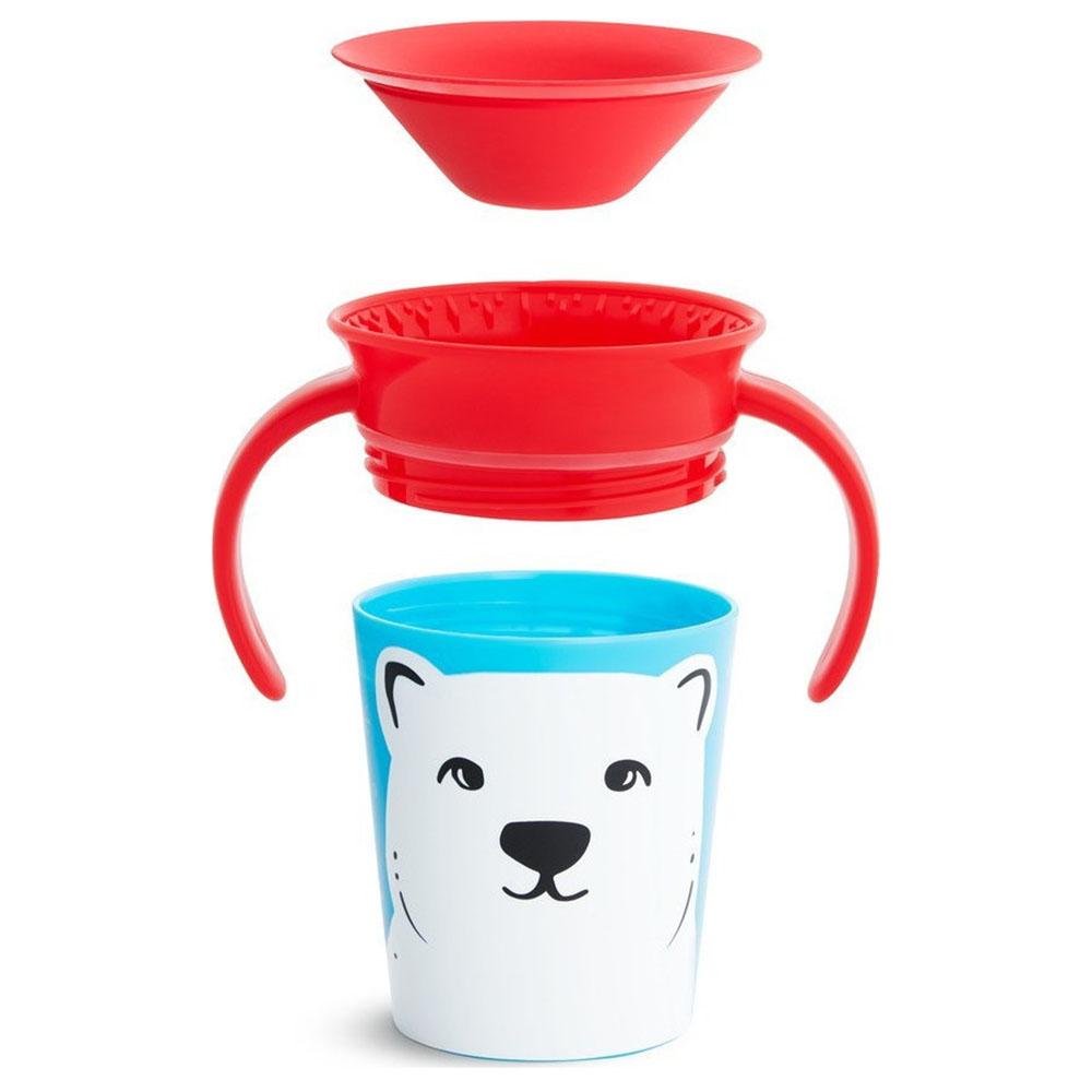 Munchkin Miracle 360° Deco Wildlove Cup Polar Bear 177ml