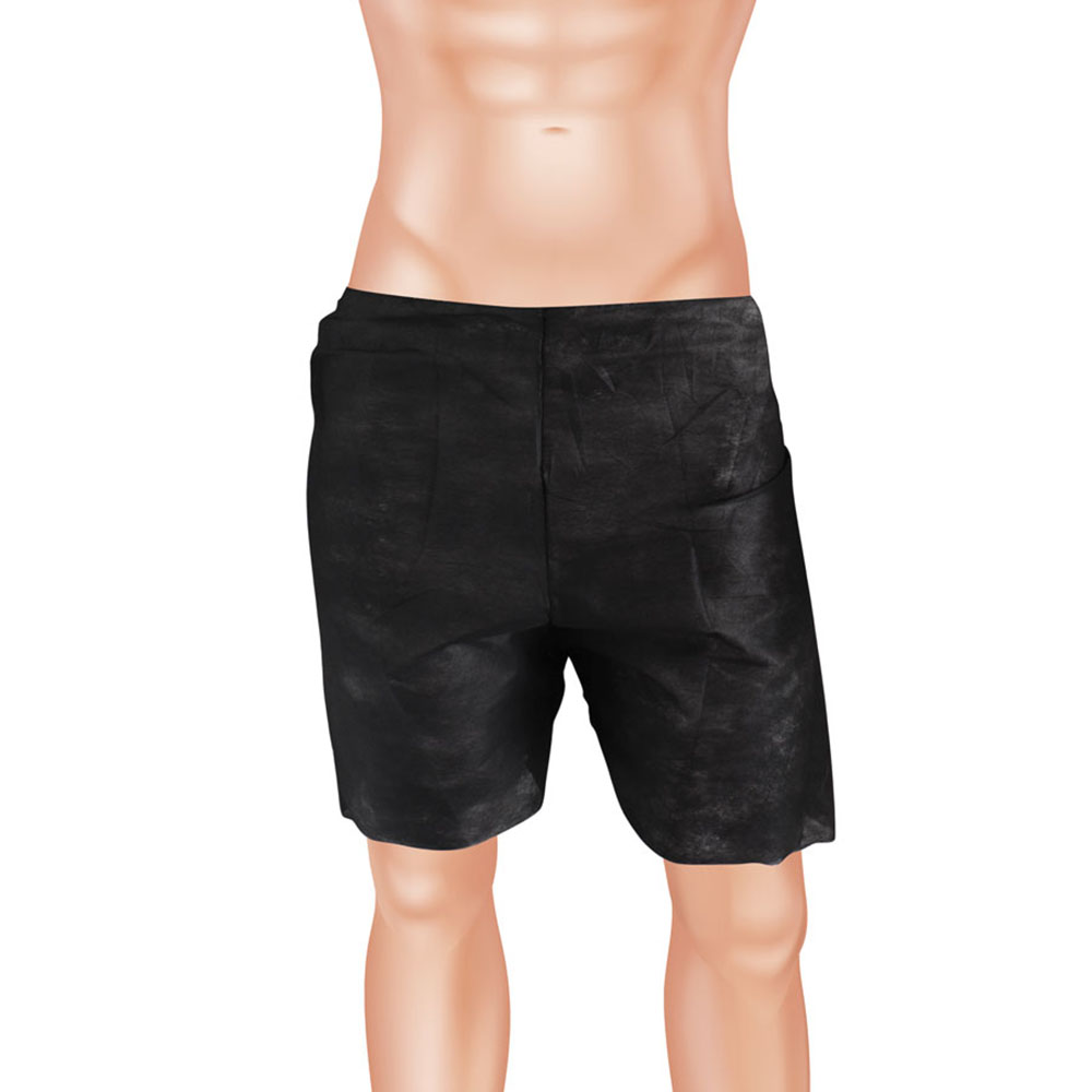 Εσώρουχο Ανδρικό Non-Woven Boxer Μίας Χρήσης Μαύρο 50 Τεμάχια