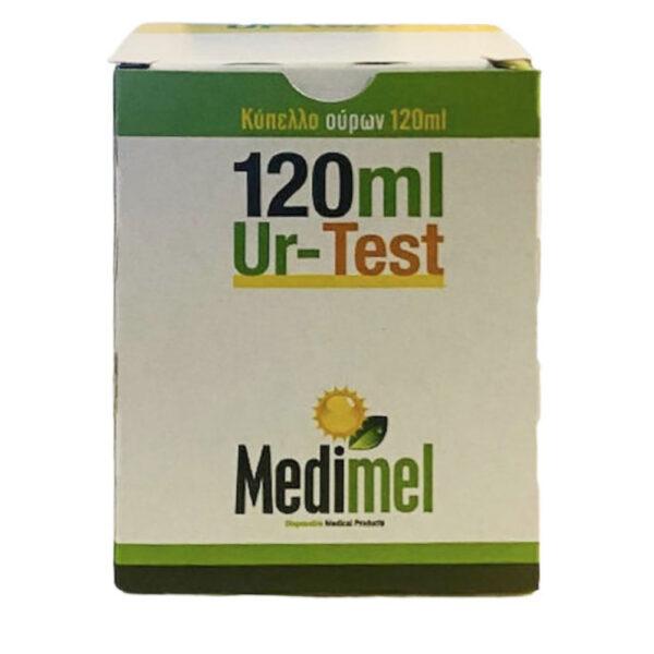 Medimel Ur-Test Αποστειρωμένο Κύπελλο Ούρων Σε Κουτί 120ml