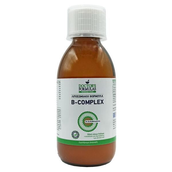 Doctor's Formulas Λιποσωμιακή Φόρμουλα B-Complex 150ml