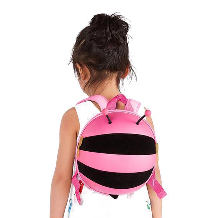 Supercute Μέλισσα Σχολική Τσάντα Πλάτης Νηπιαγωγείου Ροζ