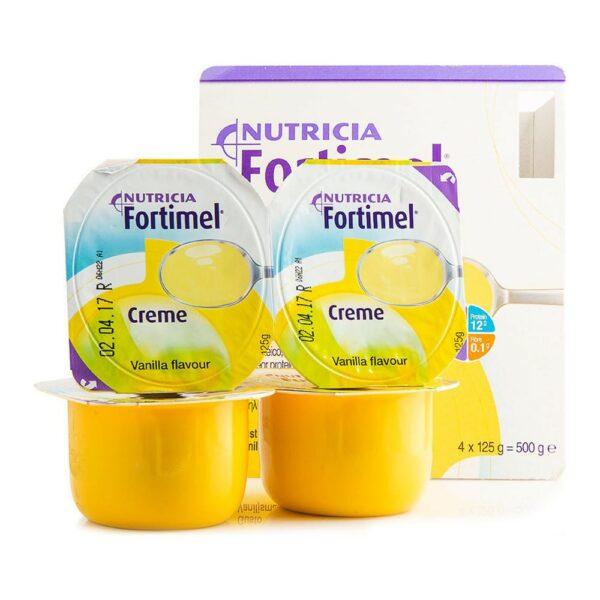 Nutricia Fortimel Creme Βανίλια 4x125gr