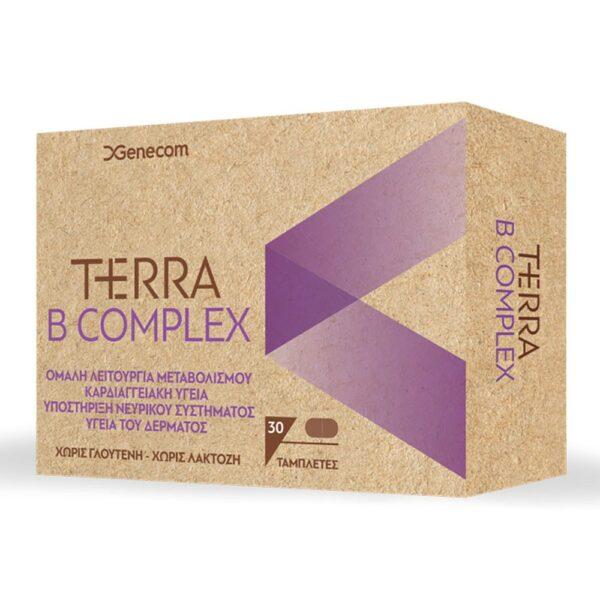 Genecom Terra B Complex 30Tabs
