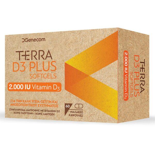 Genecom Terra D3 Plus 2000iu 60Tabs