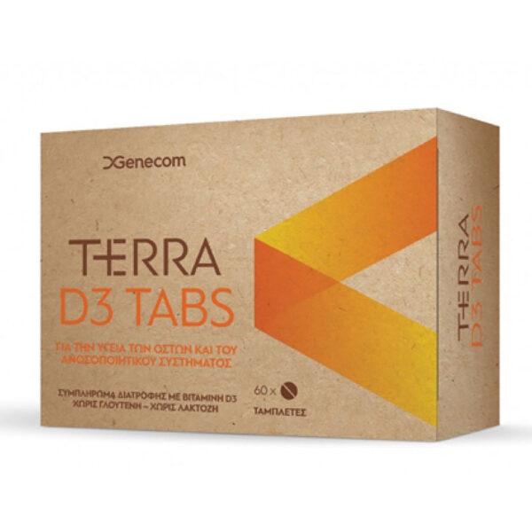 Genecom Terra D3 1200iu 60Tabs