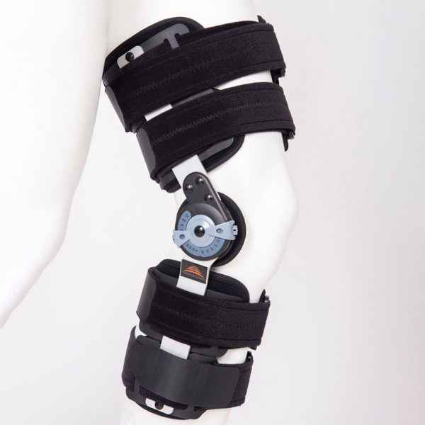 Medical Brace MB.9005 Νάρθηκας Μηροκνημικός Λειτουργικός Με Γωνιόμετρο 50cm Premium Long