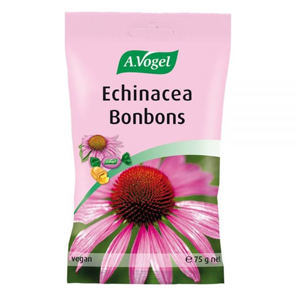 A. Vogel Echinacea Bonbons Καραμέλες Για Τον Πονόλαιμο & Τη Φαρυγγολαρυγγίτιδα 75gr