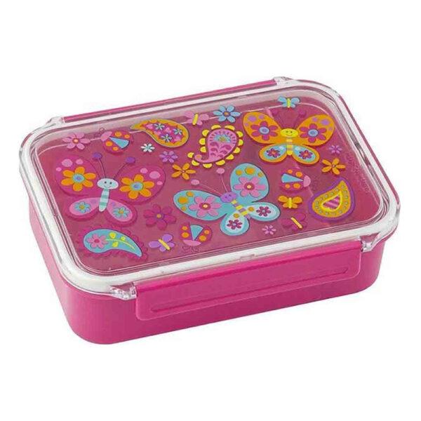 Stephen Joseph Bento Box Πλαστικό Παιδικό Δοχείο Φαγητού Butterfly 18x13x5cm