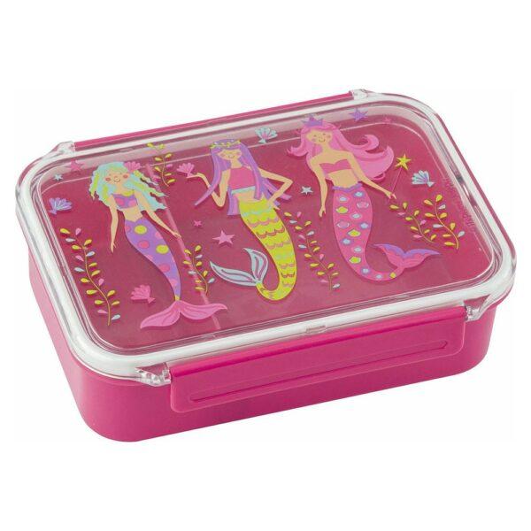 Stephen Joseph Bento Box Πλαστικό Παιδικό Δοχείο Φαγητού Mermaid 18x13x5cm