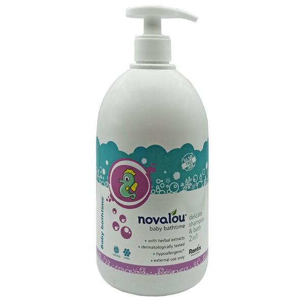Novalou Baby Bathtime Με Αντλία 1lt