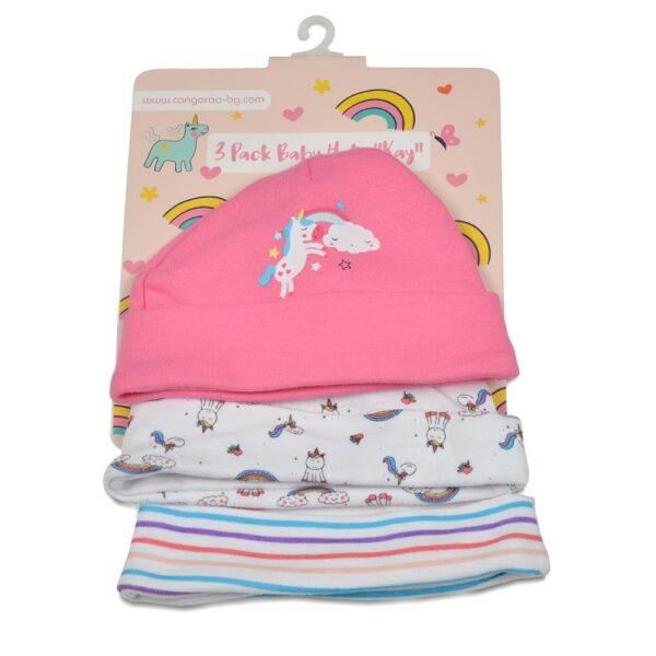 Moni Baby Hats Kay Pink