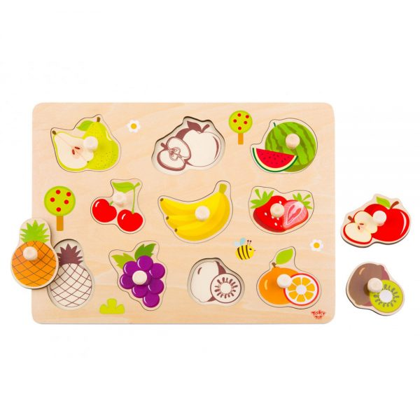 Tooky Toy TY854 Fruit Puzzle